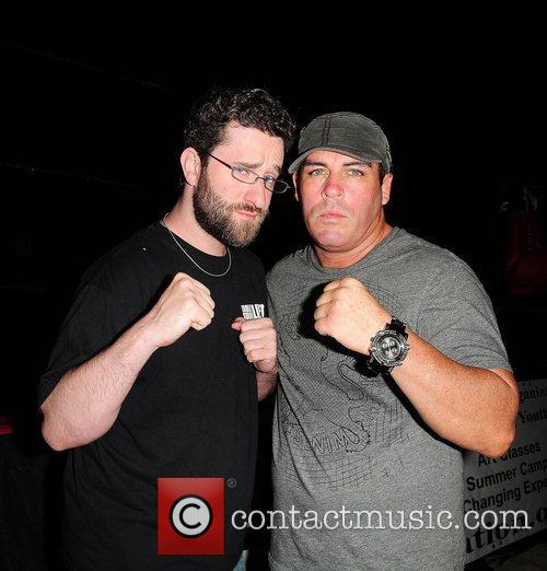Dustin Screech Diamond and Damon Feldman at the...