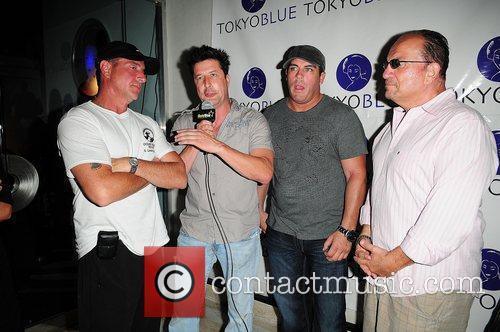 Michael Lohan, Frank Talerico, Damon Feldman and Frank...
