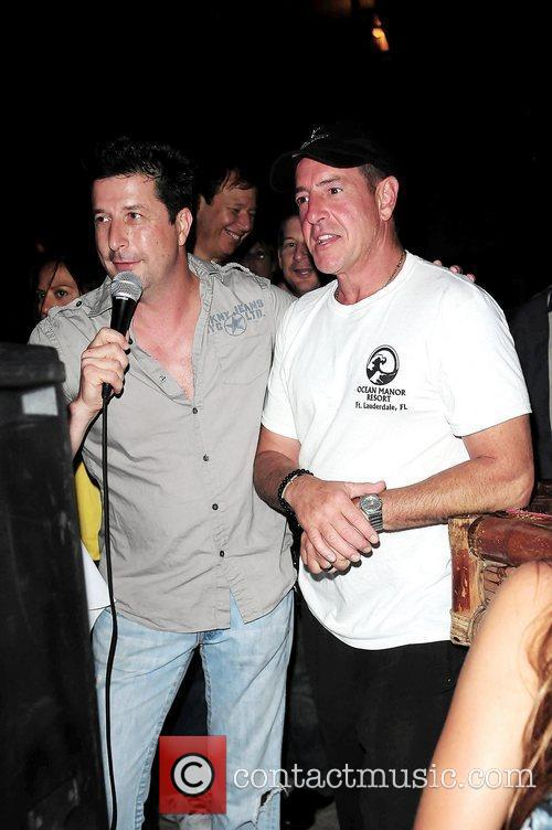 Frank Talerico and Michael Lohan at the Celebrity...