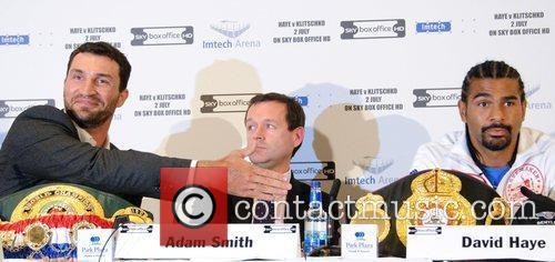 Wladimir Klitschko and David Haye Wladimir Klitschko and...