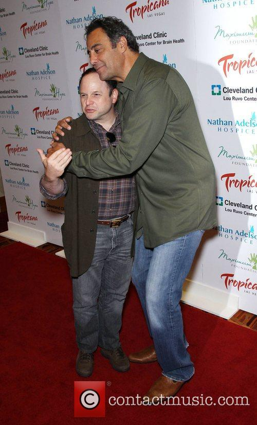 Jason Alexander and Brad Garrett 7