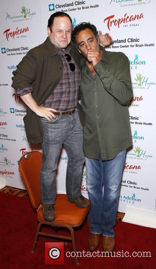 Jason Alexander and Brad Garrett Tropicana Las Vegas...
