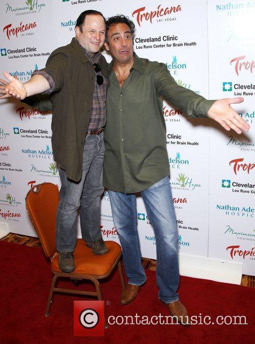 Jason Alexander and Brad Garrett 4