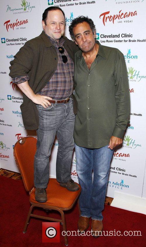 Jason Alexander and Brad Garrett 6