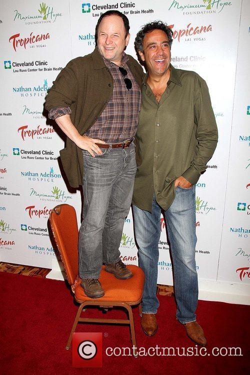 Jason Alexander and Brad Garrett 9
