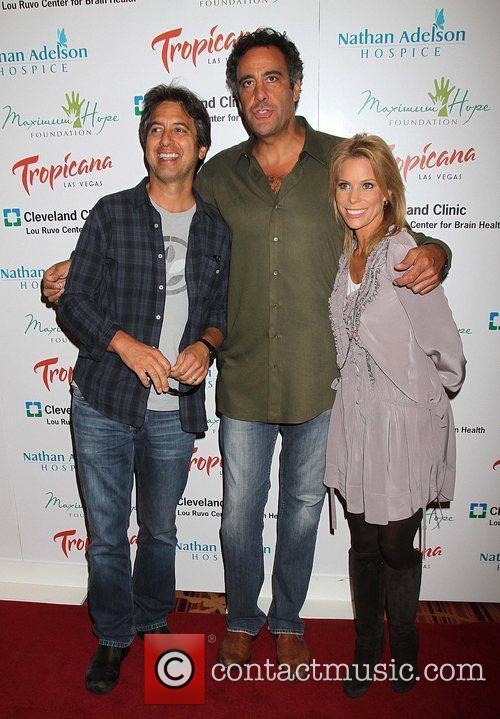 Ray Romano, Brad Garrett and Cheryl Hines 2