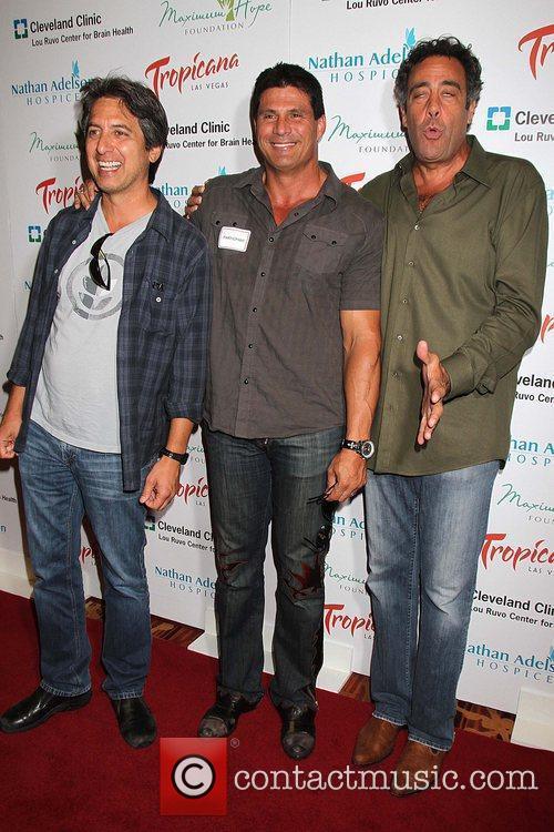 Ray Romano, Brad Garrett and Jose Canseco 3