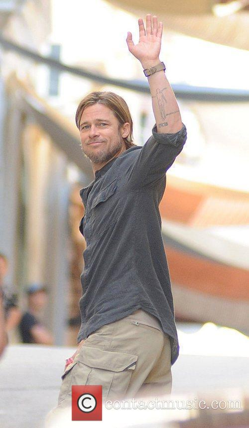 Brad Pitt on the movie location of his...
