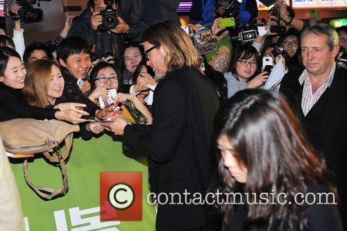The South Korean Premiere of 'Moneyball' - Red...