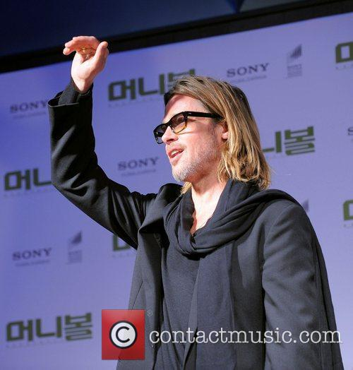 Brad Pitt The South Korean Premiere of 'Moneyball'...