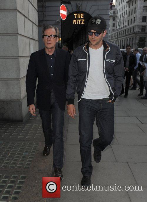 Bill Nighy and Bradley Cooper 5