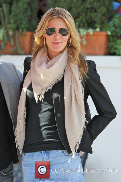 Brandi Glanville  out and about in Beverly...