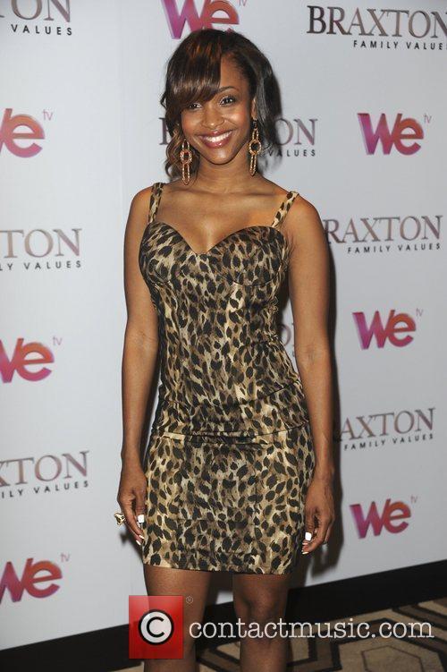 Cherlise 'Braxton Family Values' Season 2 premiere at...