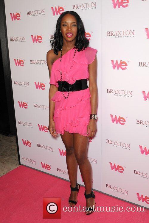 DJ Kiss  Braxton Sisters attend the launch...