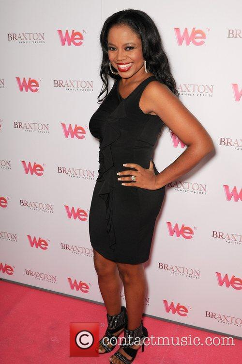 Shanice Braxton Sisters attend the launch party for...