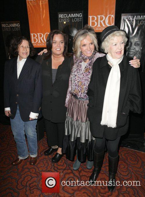Fran Lebowitz, Elaine Stritch and Rosie Odonnell 2