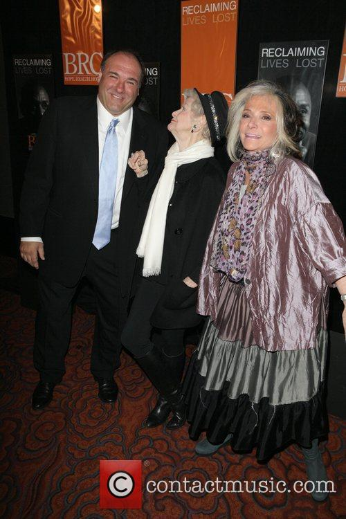 James Gandolfini and Elaine Stritch 1