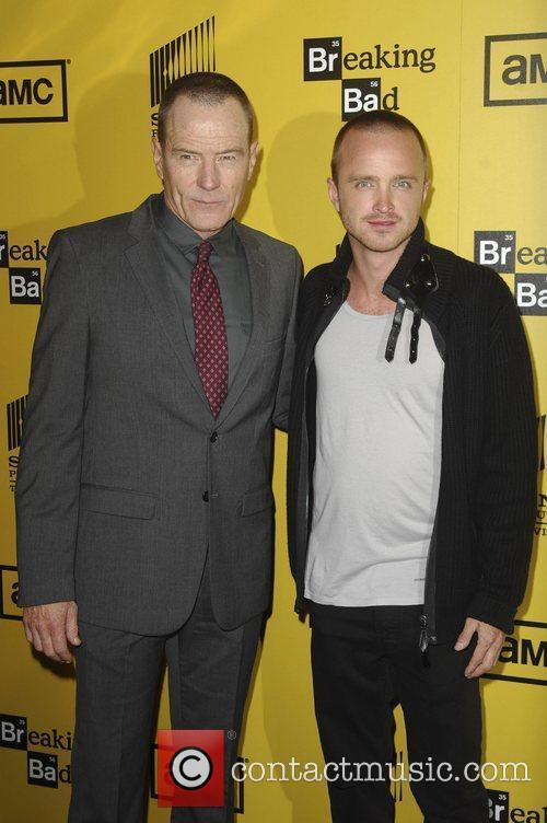 Bryan Cranston and Aaron Paul 1