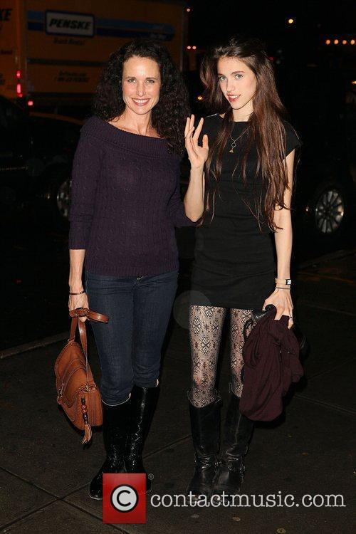 Andie Macdowell and Rainey Qualley 5