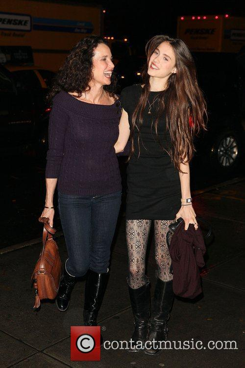 Andie Macdowell and Rainey Qualley 1
