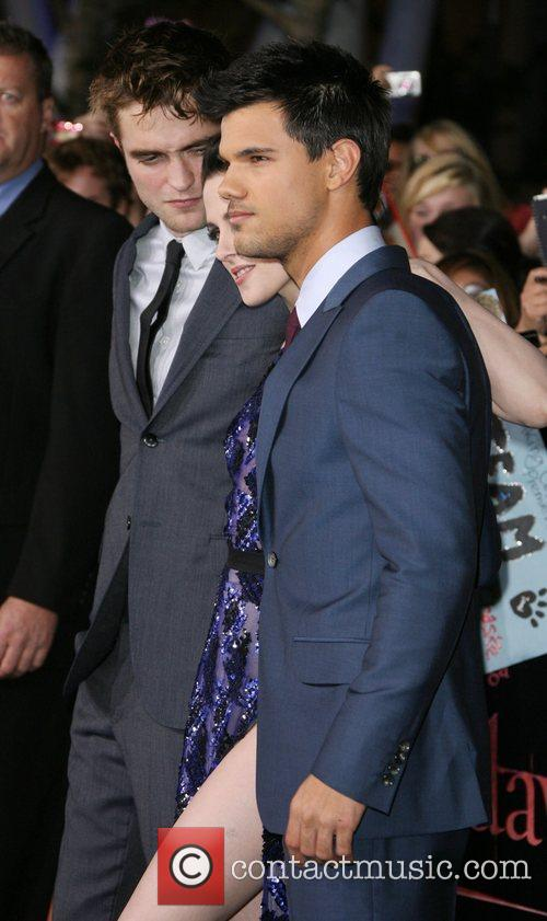 Robert Pattinson, Kristen Stewart and Taylor Lautner 2