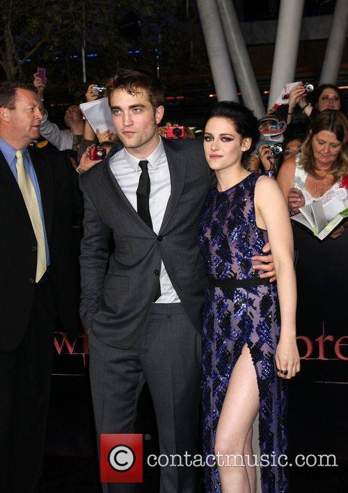 Robert Pattinson and Kristen Stewart 4