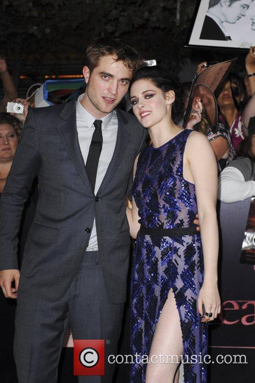 Robert Pattinson and Kristen Stewart 1