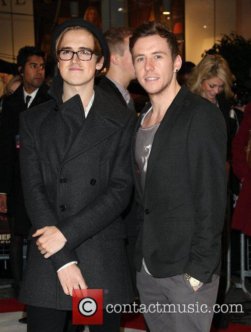 Tom Fletcher and Danny Jones of McFly The...