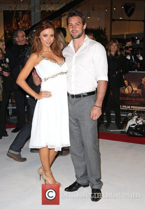 Una Healy and fiance Ben Foden The Twilight...