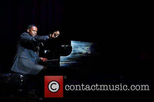Brian McKnight performs during his 'Just Me Tour'...