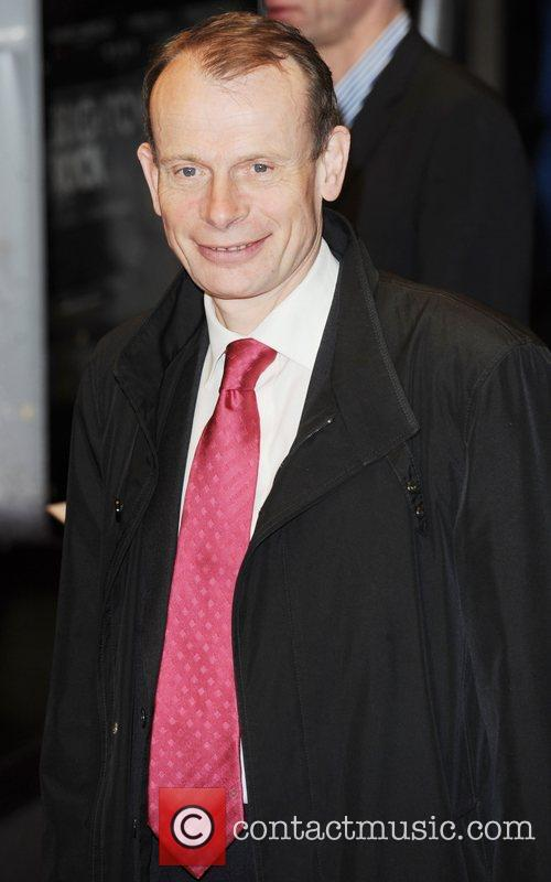 Andrew Marr UK film premiere of 'Brighton Rock'...