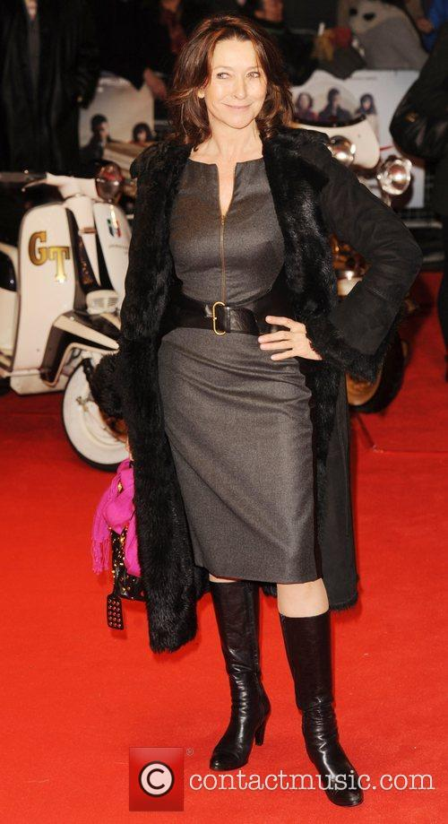 Cherie Lunghi  UK film premiere of 'Brighton...