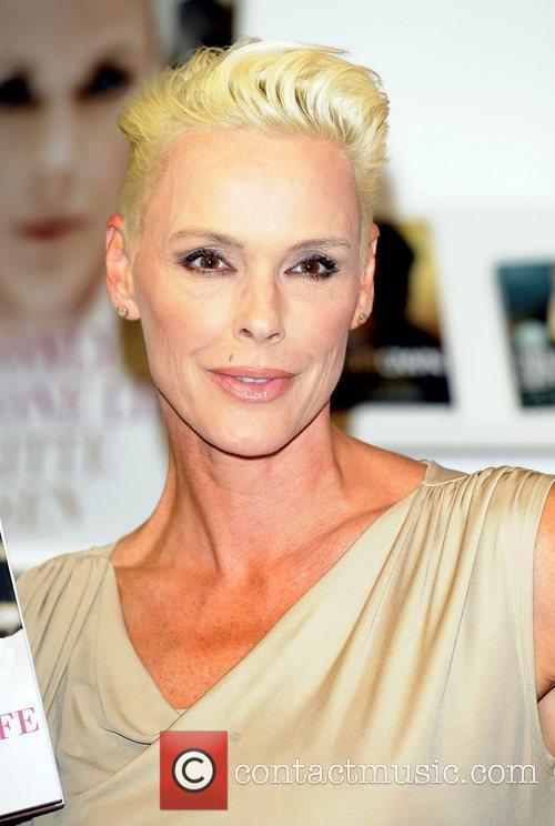 Brigitte Nielsen signs copies of her autobiography 'You...