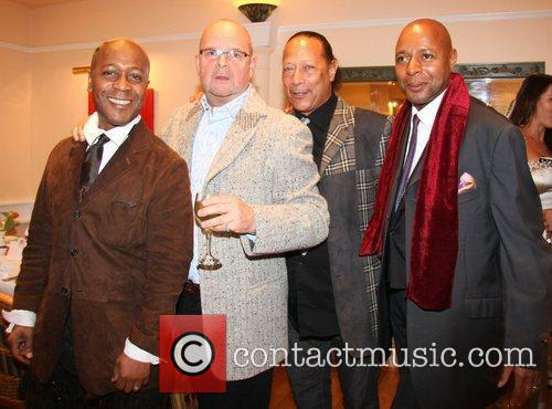 Russell Fraser, James Wild, Peter Straker and Leee...