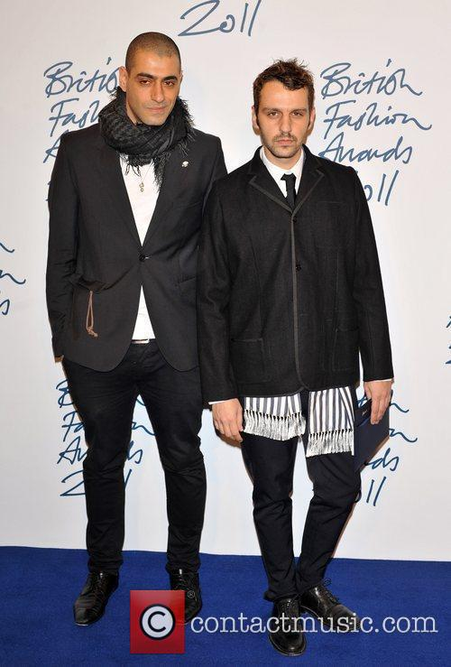 Guests 2011 British Fashion Awards held at the...
