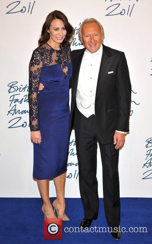 Harold Tillman and guest 2011 British Fashion Awards...