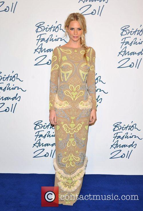 Poppy Delevigne 2011 British Fashion Awards held at...
