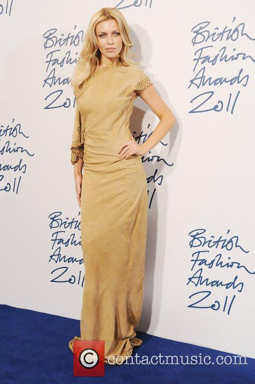 Abbey Clancy  2011 British Fashion Awards held...