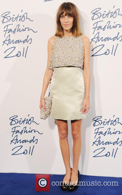 Alexa Chung  2011 British Fashion Awards held...