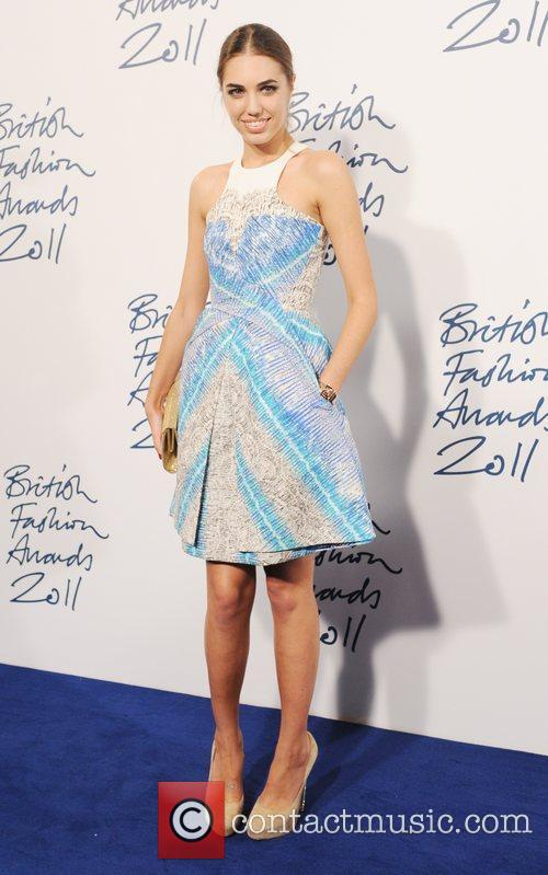 Amber LeBon  2011 British Fashion Awards held...
