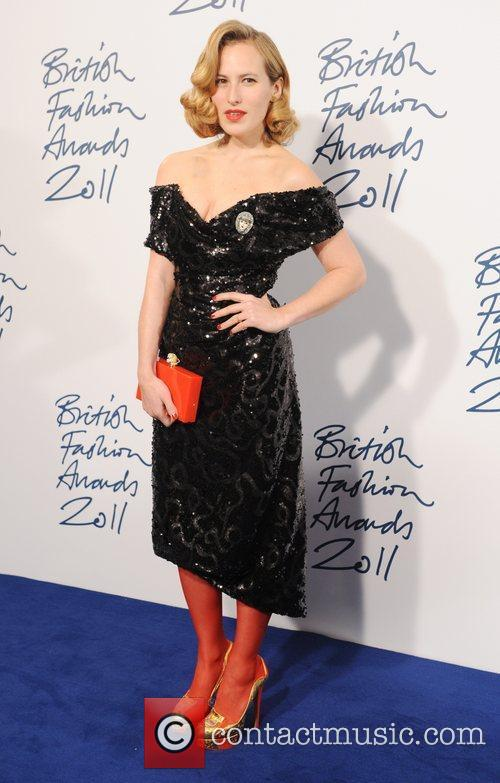 Charlotte Dellal  2011 British Fashion Awards held...