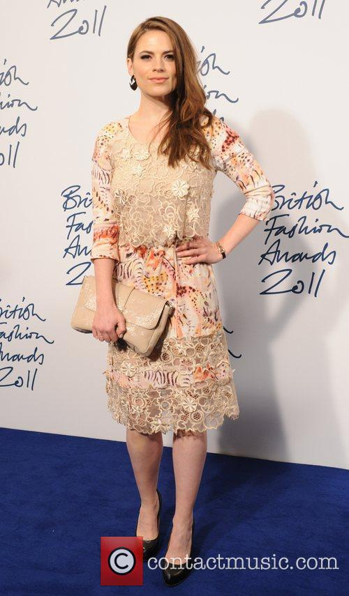 Hayley Atwell  2011 British Fashion Awards held...