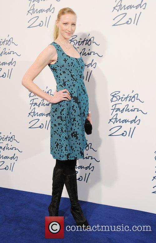 Jade Parfit  2011 British Fashion Awards held...