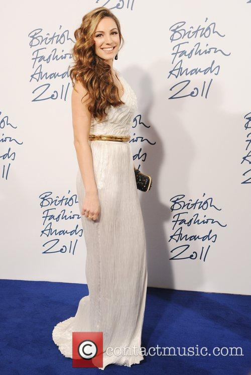 Kelly Brook  2011 British Fashion Awards held...
