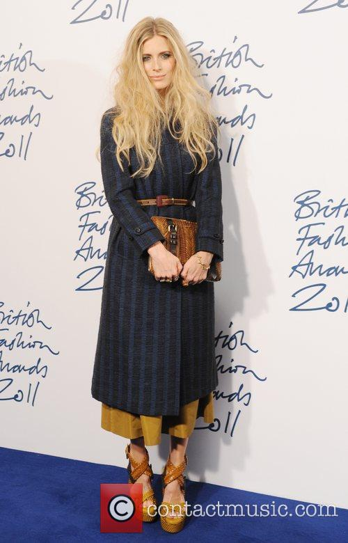 Laura Bailey  2011 British Fashion Awards held...