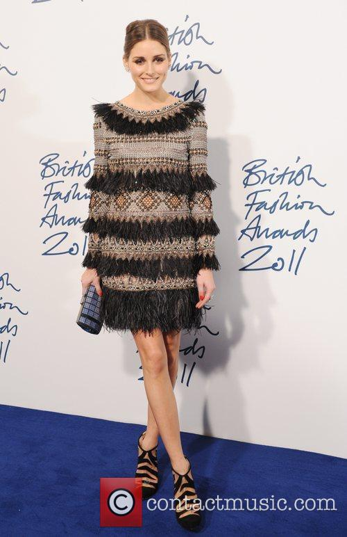 Olivia Palermo  2011 British Fashion Awards held...