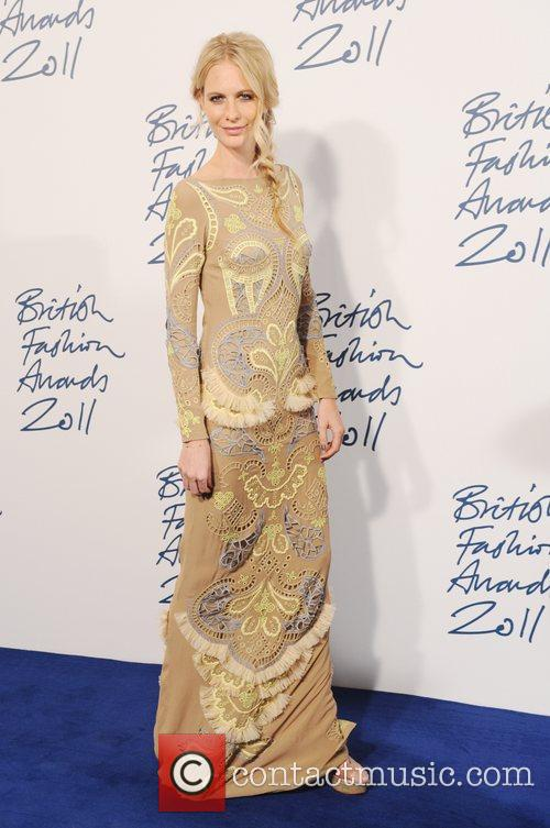 Poppy Delevigne  2011 British Fashion Awards held...