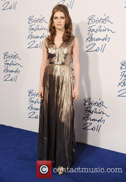 Tali Lennox  2011 British Fashion Awards held...
