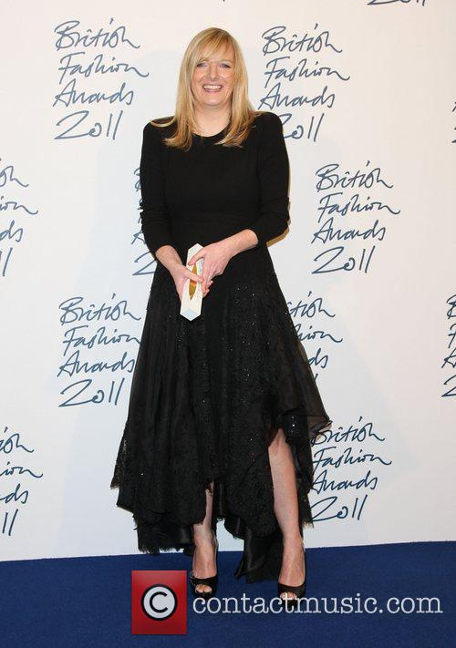 Guest The British Fashion Awards 2011 held at...