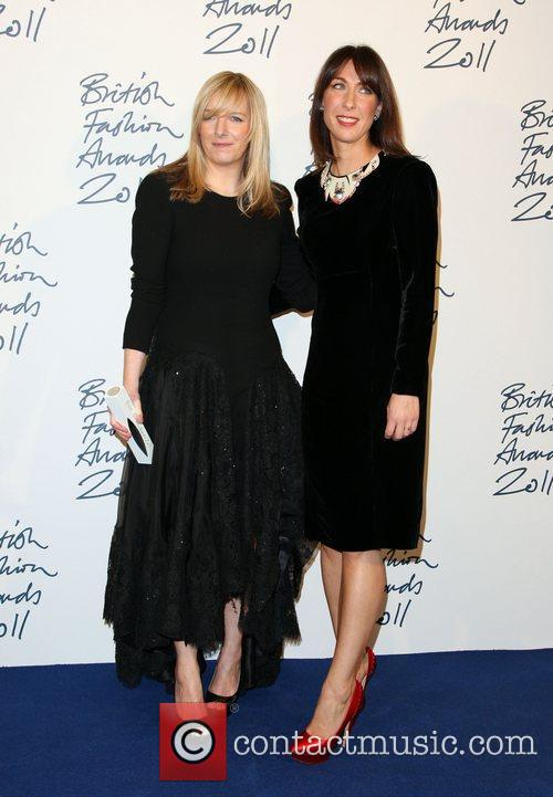 Sarah Burton winner of Designer of the Year...